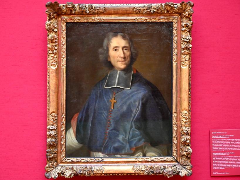 Joseph Vivien: François de Salignac de La Mothe-Fénelon (1651-1715), Erzbischof von Cambrai, Um 1714