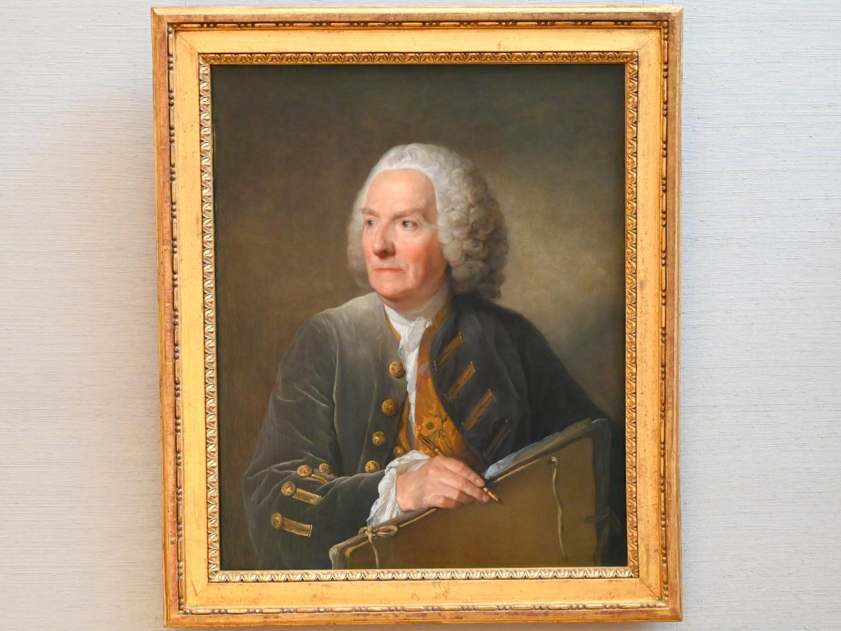 Jean-Baptiste Greuze: Louis de Silvestre d.J., Um 1754