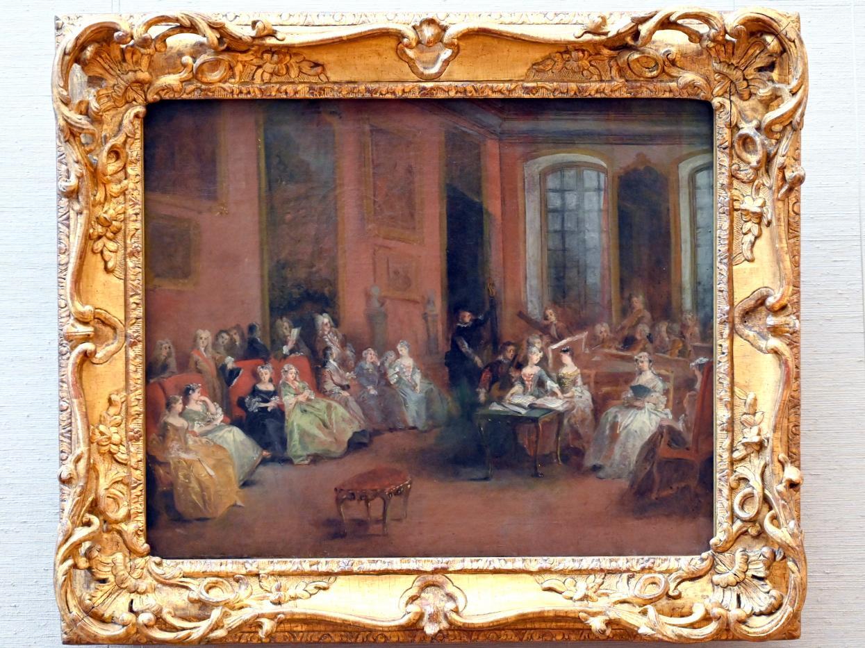 Nicolas Lancret: Konzert im Salon, um 1738