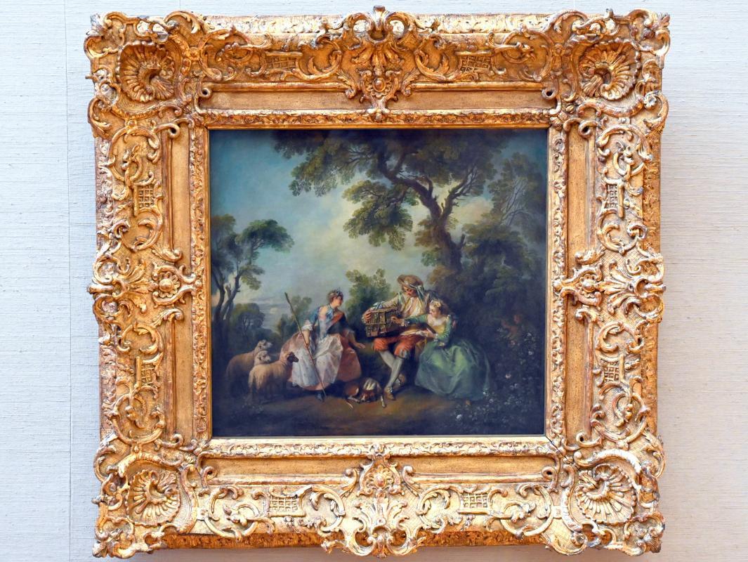 Nicolas Lancret: Der Vogelkäfig, um 1735