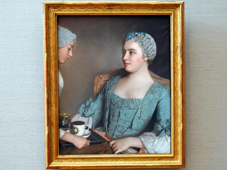 Jean-Étienne Liotard: Das Frühstück, um 1754, Bild 1/2