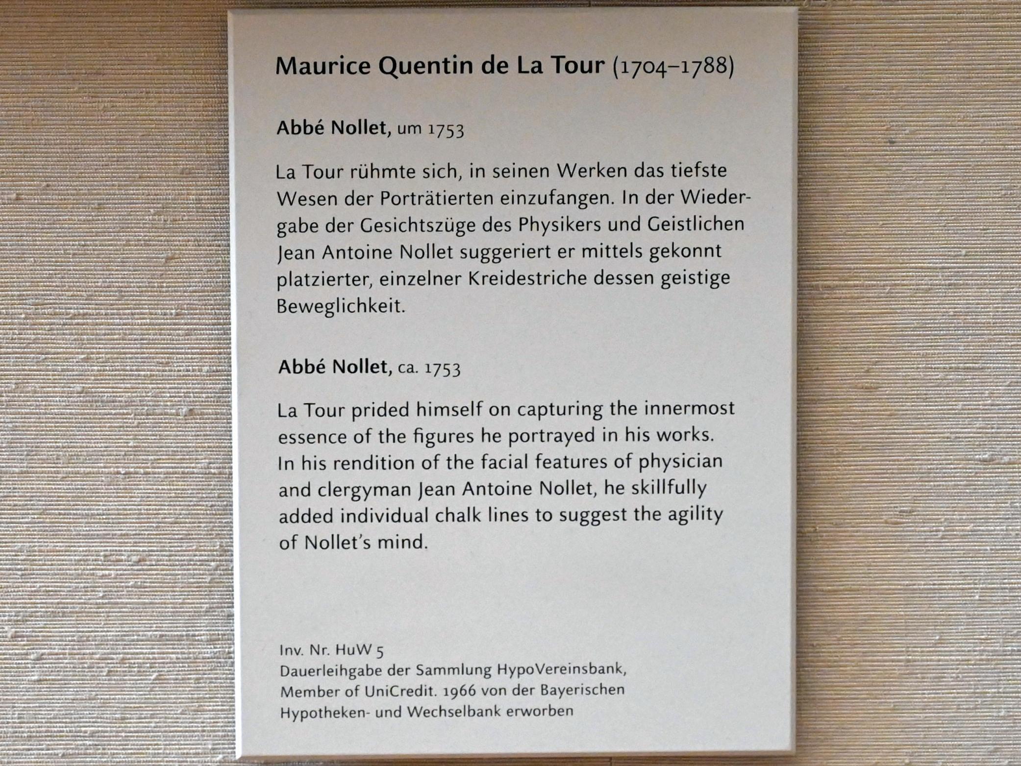 Maurice Quentin de La Tour: Mademoiselle Ferrand meditiert über Newton, um 1753, Bild 2/2