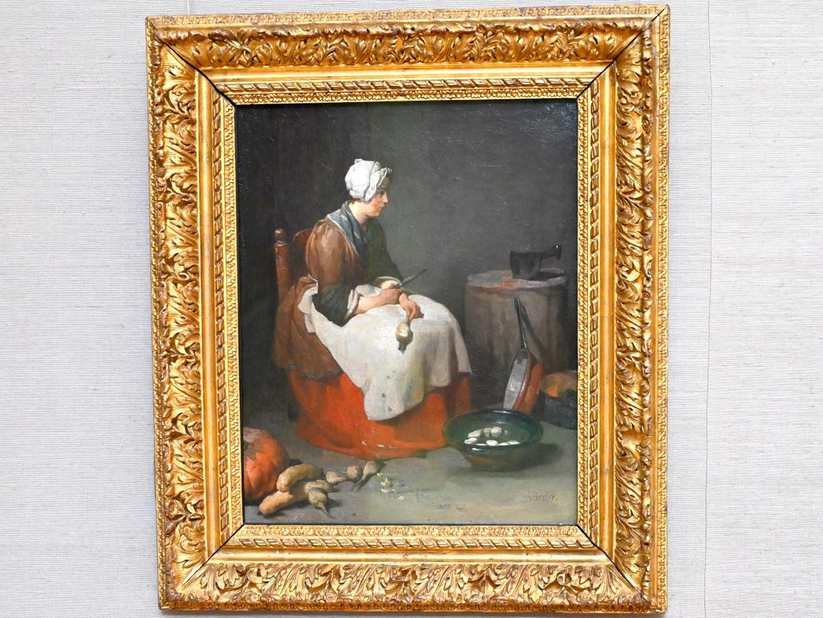 Jean Siméon Chardin: Die Rübenputzerin, um 1738