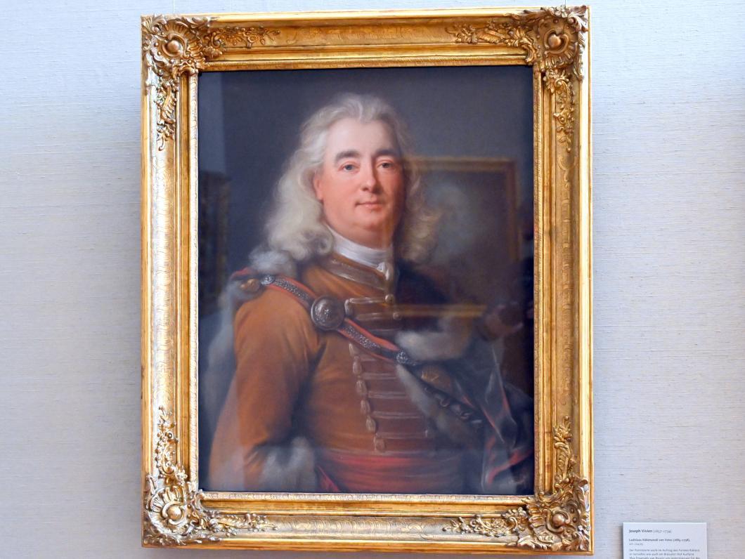 Joseph Vivien: Ladislaus Kökényesdi von Vetes (1685-1756), Um 1704 - 1705
