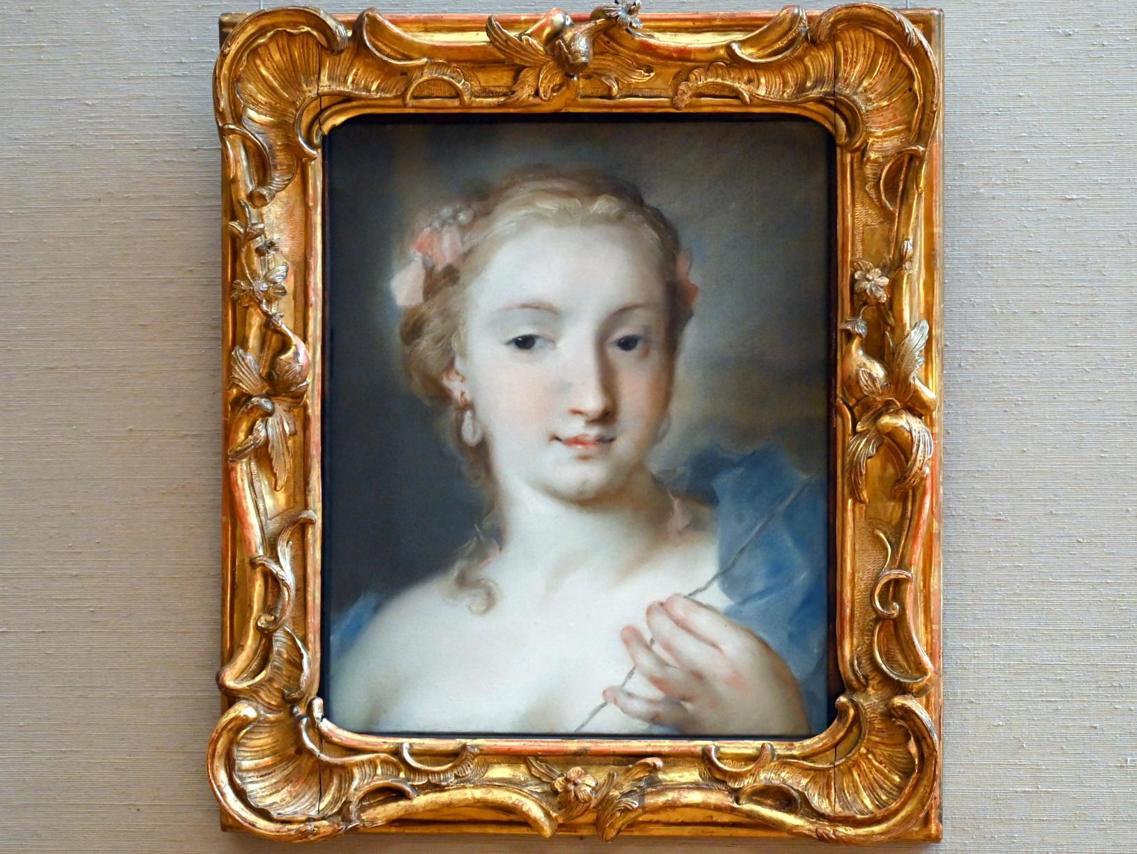 Rosalba Carriera: Die Parze Klotho, Um 1730 - 1740
