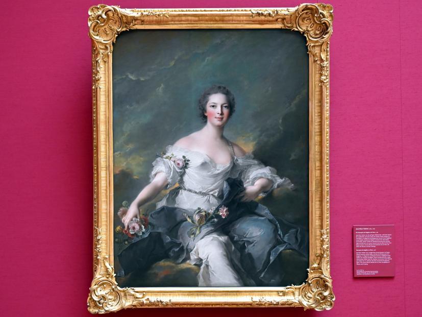 Jean-Marc Nattier: Die Marquise de Baglion als Flora, 1746