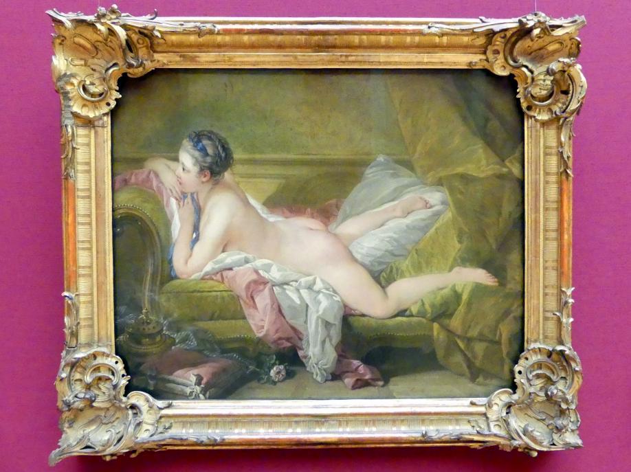 François Boucher: Ruhendes Mädchen, 1752