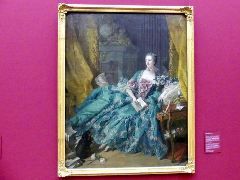 François Boucher: Madame de Pompadour, 1756