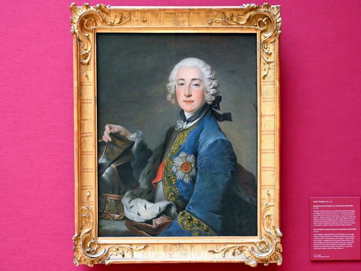 Louis Tocqué: Pfalzgraf Friedrich Michael von Zweibrücken-Birkenfeld, Um 1745