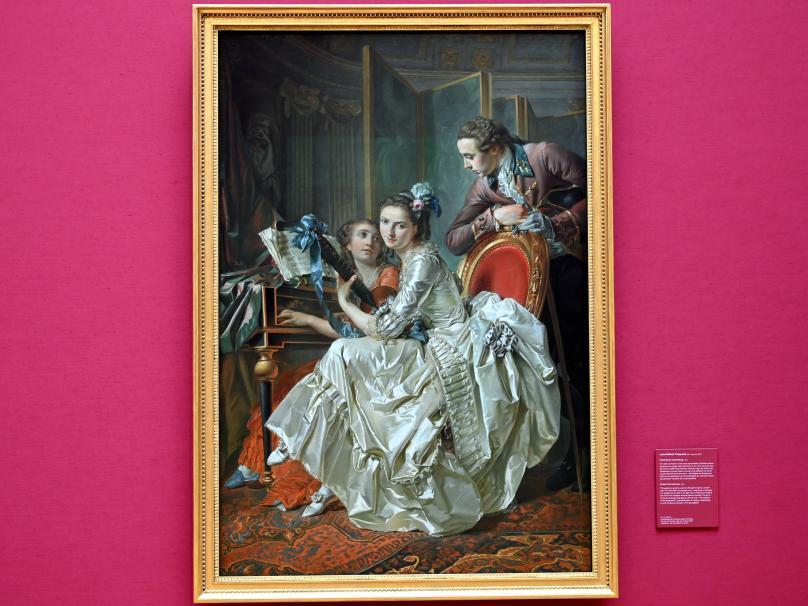 Louis-Roland Trinquesse: Musikalische Unterhaltung, 1774