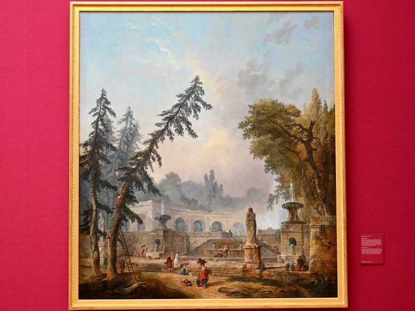Hubert Robert: Parklandschaft, Um 1773