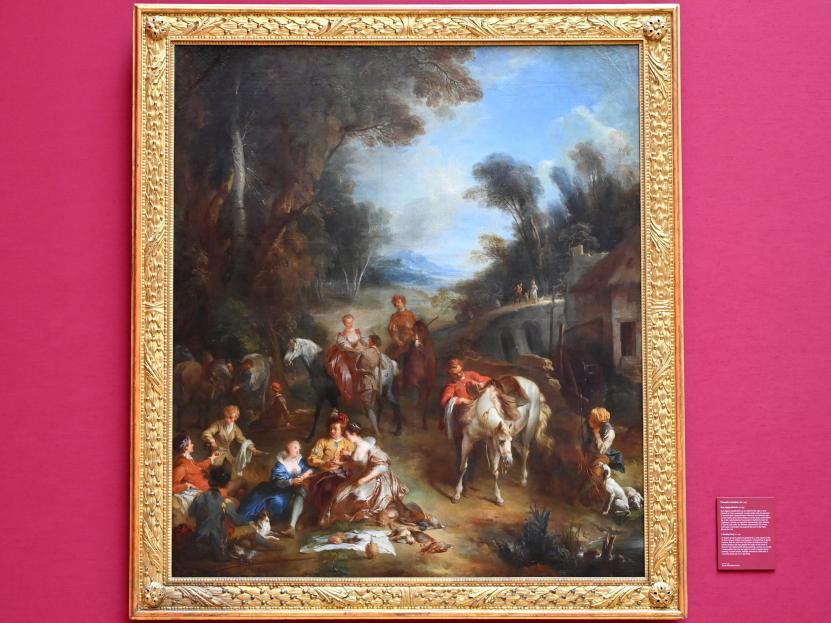 François Lemoyne: Eine Jagdgesellschaft, Um 1730