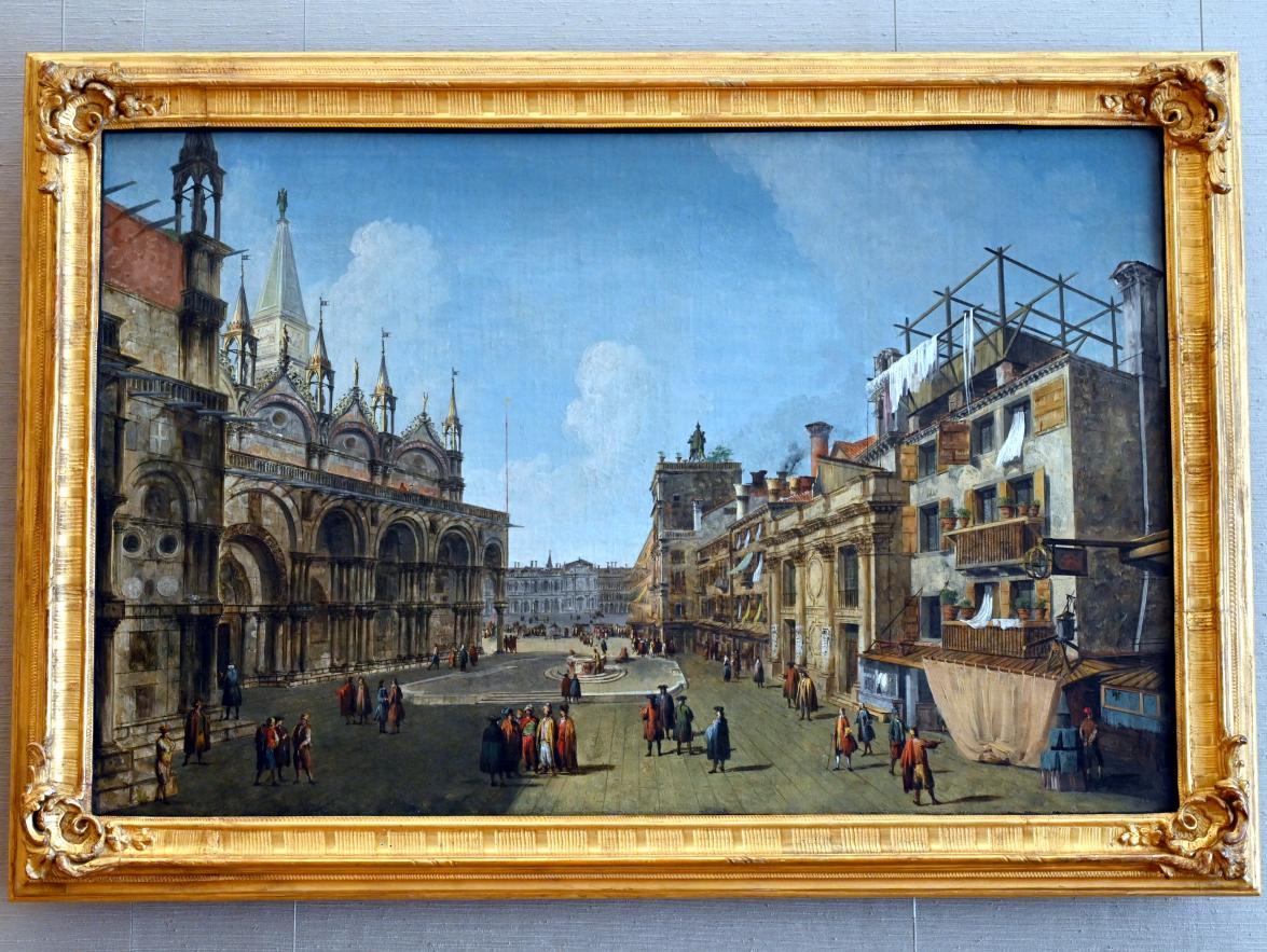 Michele Marieschi: Ansicht der Piazzetta dei Leoni, Um 1734 - 1735