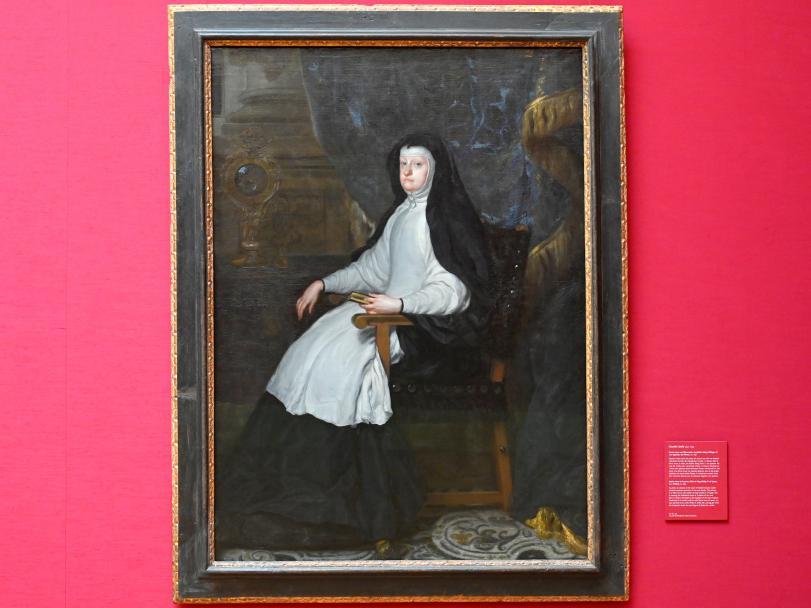 Claudio Coello: Maria Anna von Österreich, Gemahlin König Philipps IV. von Spanien, als Witwe, Um 1690
