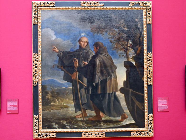 Claudio Coello: Der hl. Petrus von Alcántara wandert über den Fluss, Um 1690