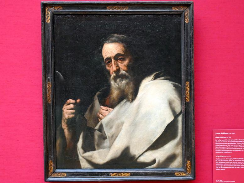 Jusepe de Ribera: Hl. Bartholomäus, um 1633