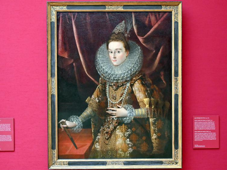 Juan Pantoja de la Cruz: Infantin Isabella Clara Eugenia von Spanien, Um 1599