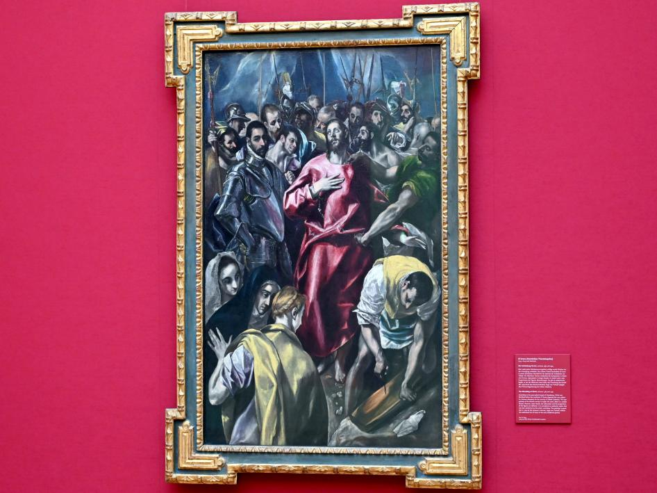 El Greco (Domínikos Theotokópoulos): Die Entkleidung Christi, Um 1585 - 1595