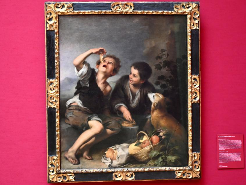 Bartolomé Esteban Murillo: Die Pastetenesser, Um 1675 - 1682