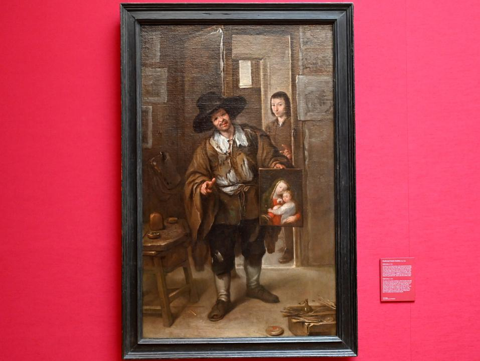 Claudio José Vicente Antolínez: Atelierszene, Um 1670