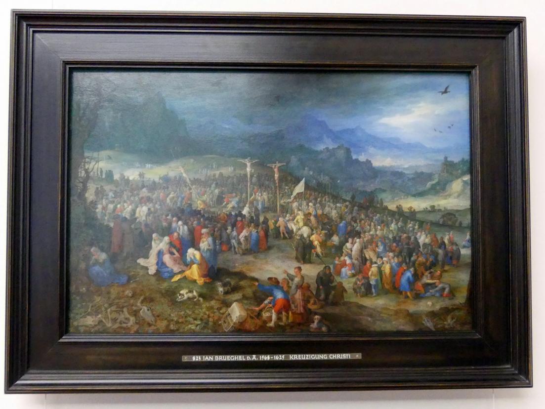 Jan Brueghel der Ältere (Blumenbrueghel): Kalvarienberg, 1598