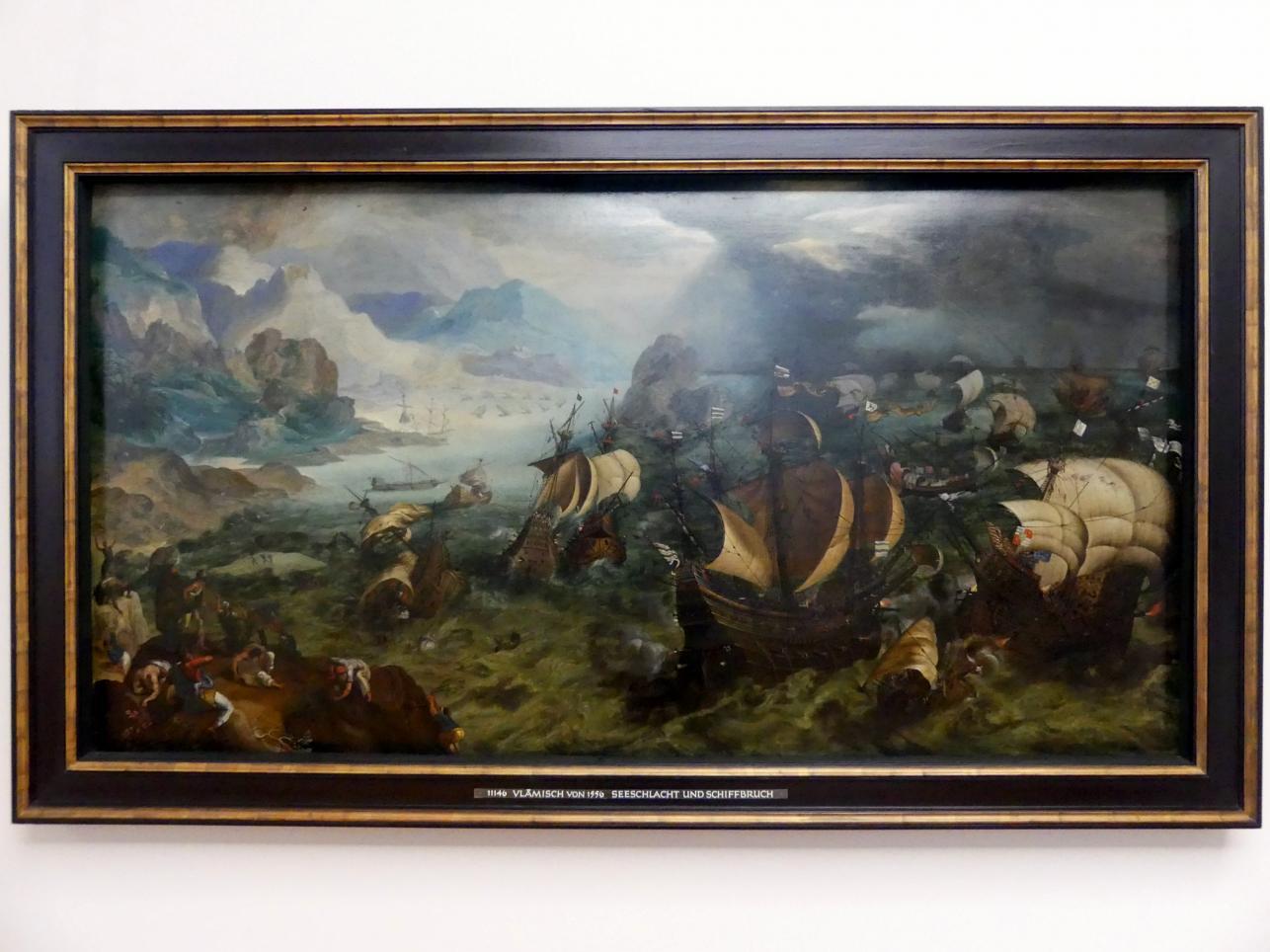 Seeschlacht und Schiffbruch, 1556