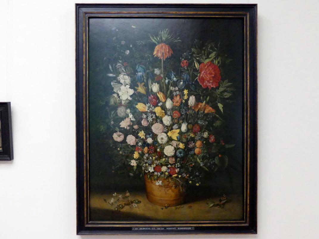 Jan Brueghel der Ältere (Werkstatt): Großer Blumenstrauß, Um 1606 - 1607