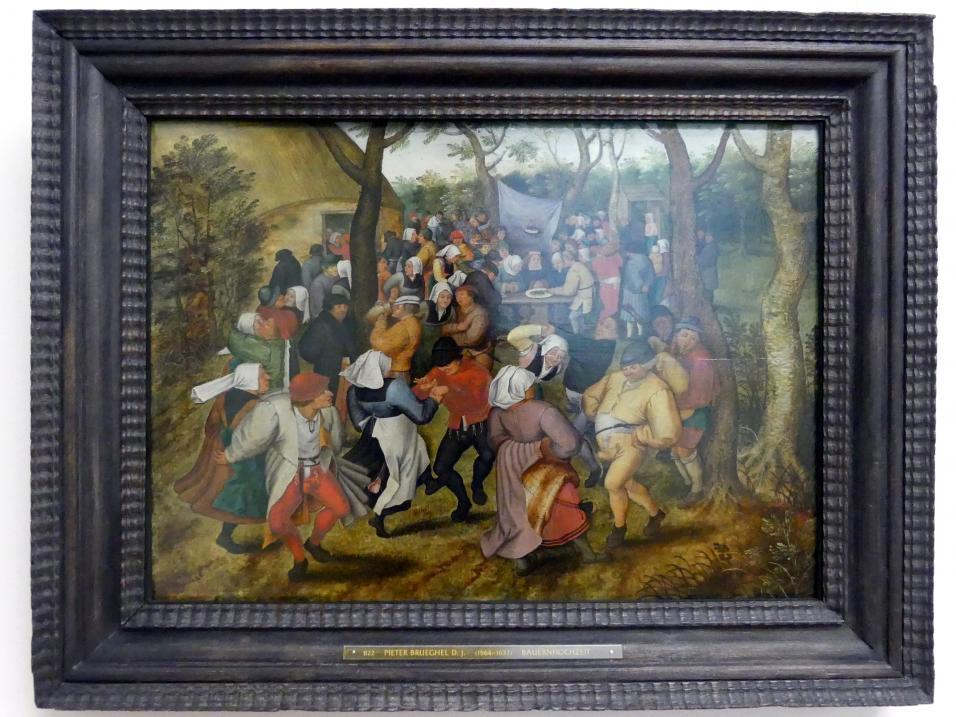 Pieter Brueghel der Jüngere (Höllenbrueghel): Bauernhochzeit, um 1630