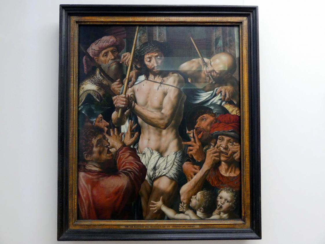 Jan Sanders van Hemessen: Verspottung Christi, 1544