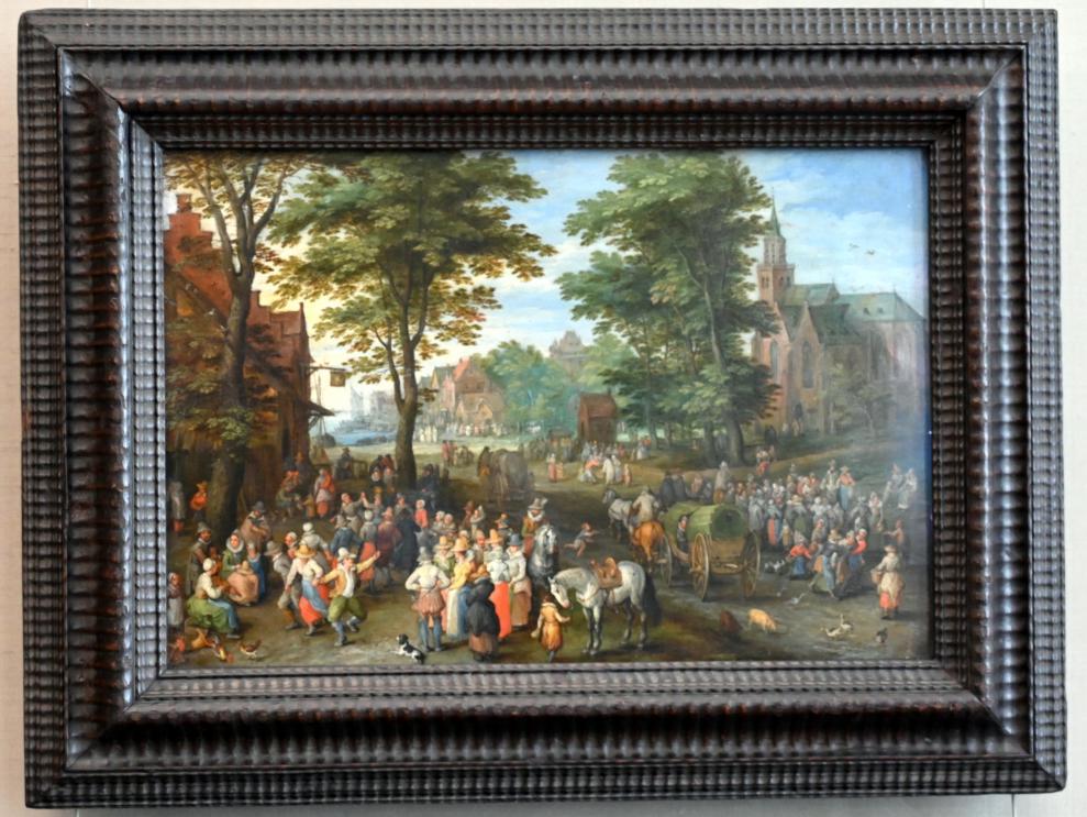 Jan Brueghel der Ältere (Blumenbrueghel): Dorffest, 1612