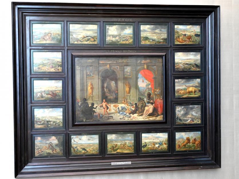 Jan van Kessel: Der Erdteil Afrika, Um 1664 - 1666