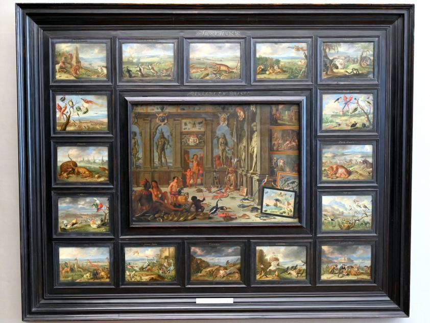 Jan van Kessel: Der Erdteil Amerika, 1666