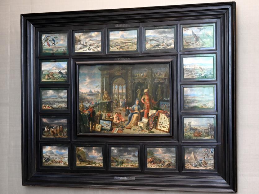 Jan van Kessel: Der Erdteil Asien, Um 1664 - 1666