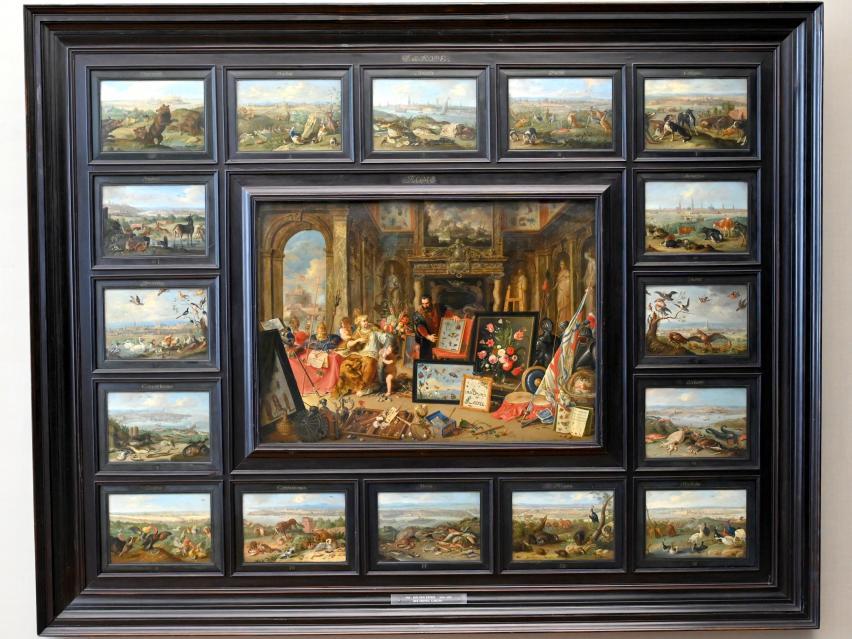 Jan van Kessel: Der Erdteil Europa, 1664