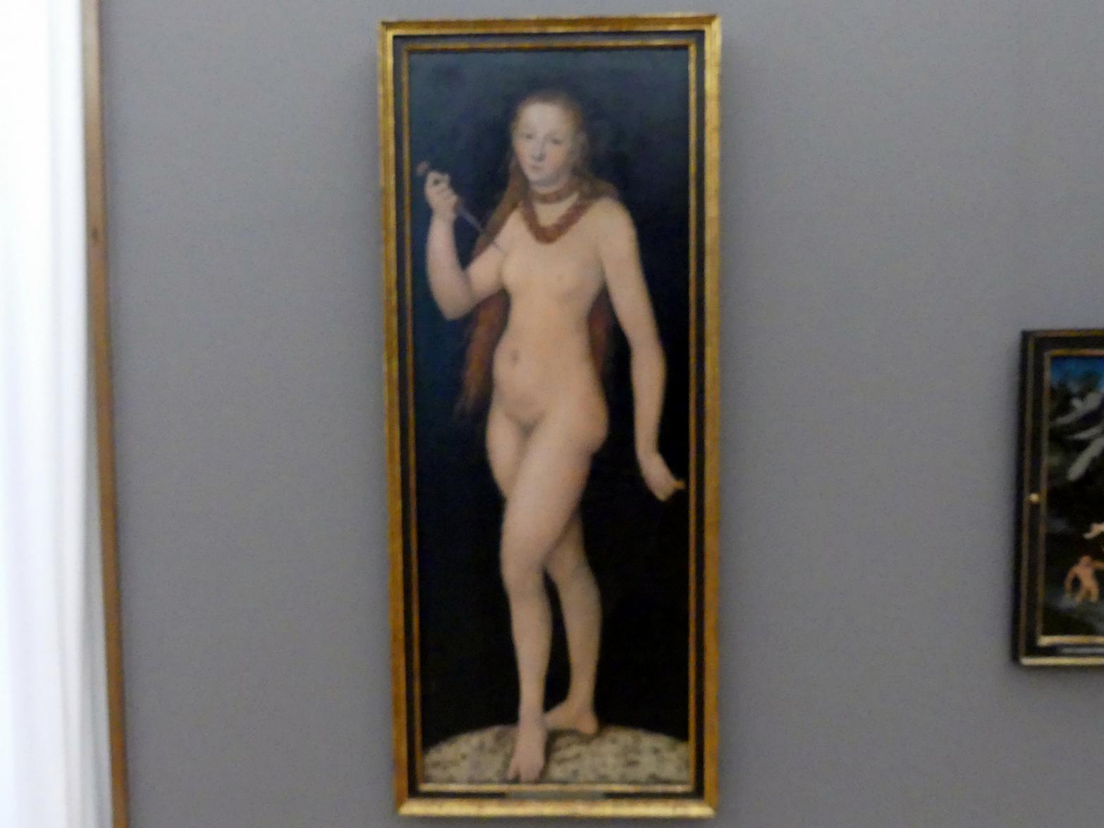 Lucas Cranach der Ältere: Selbstmord der Lucretia, 1524 - 1530
