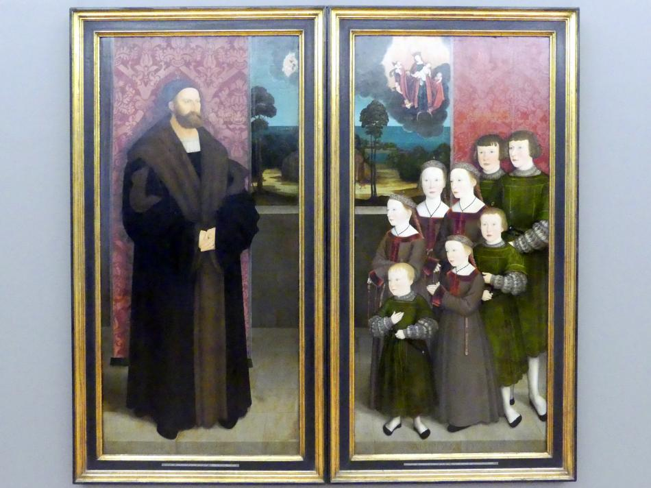 Bernhard Strigel: Die acht Kinder des Conrad Rehlinger, 1517