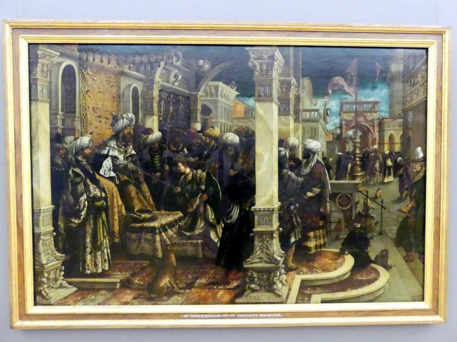 Hans Burgkmair der Ältere: Geschichte der Esther, 1528