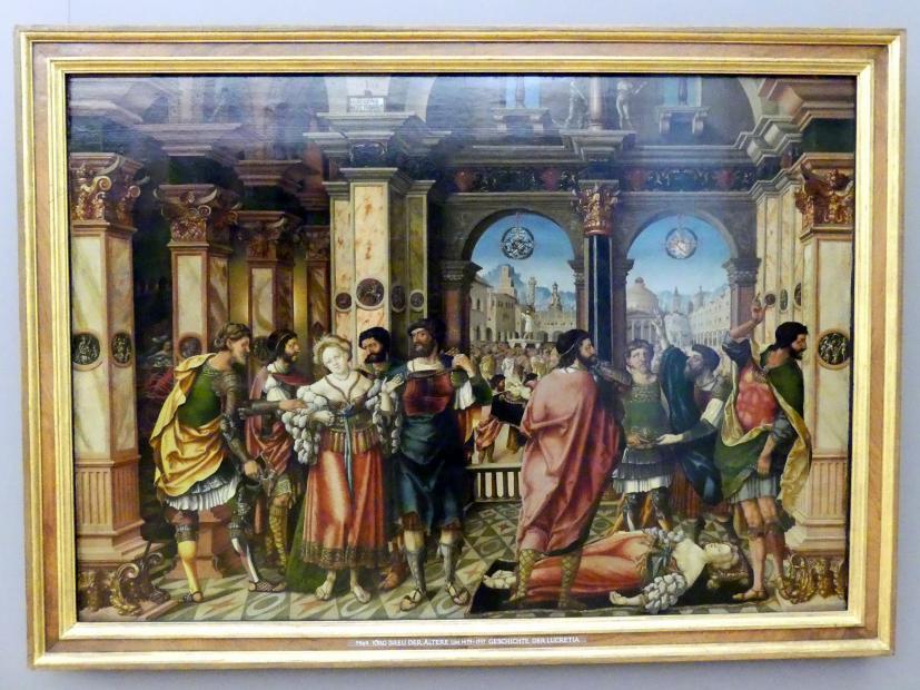 Jörg Breu der Ältere: Geschichte der Lucretia, 1528