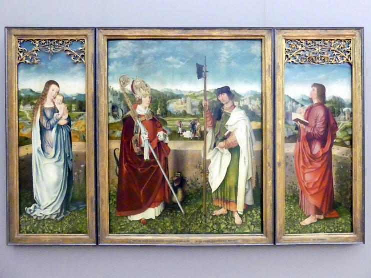 Augsburger Meister: Altar der hll. Narzissus und Matthäus, Um 1513