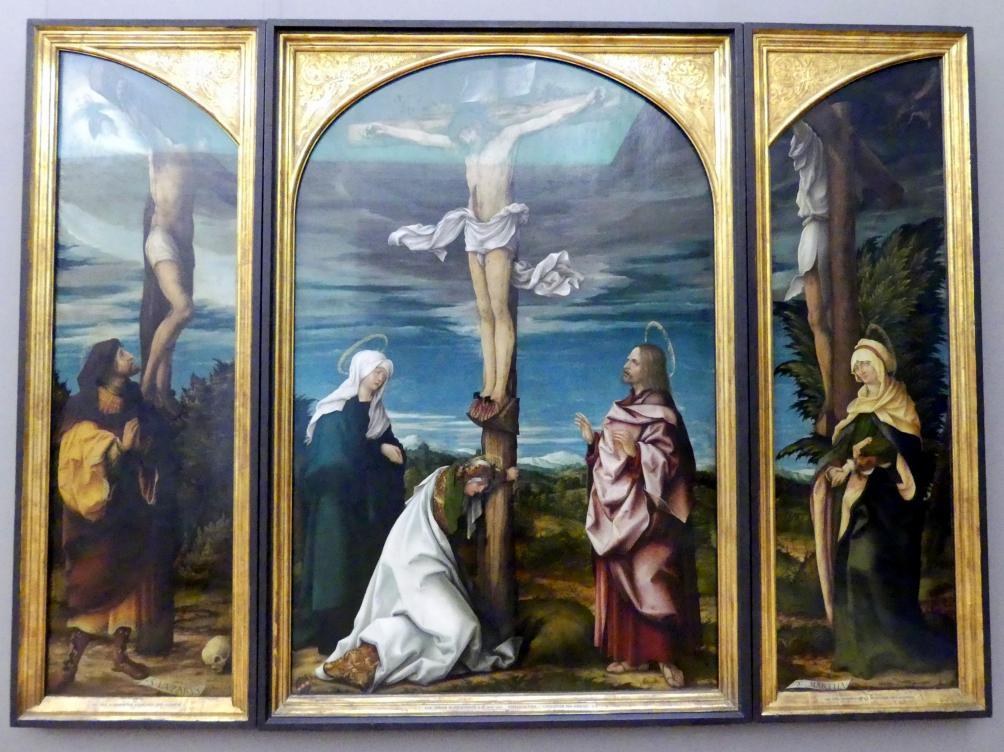 Hans Burgkmair der Ältere: Kreuzigungsaltar, 1519