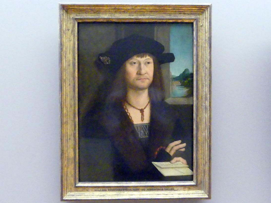 Bernhard Strigel: Hieronymus II. Haller zu Kalchreuth, 1503