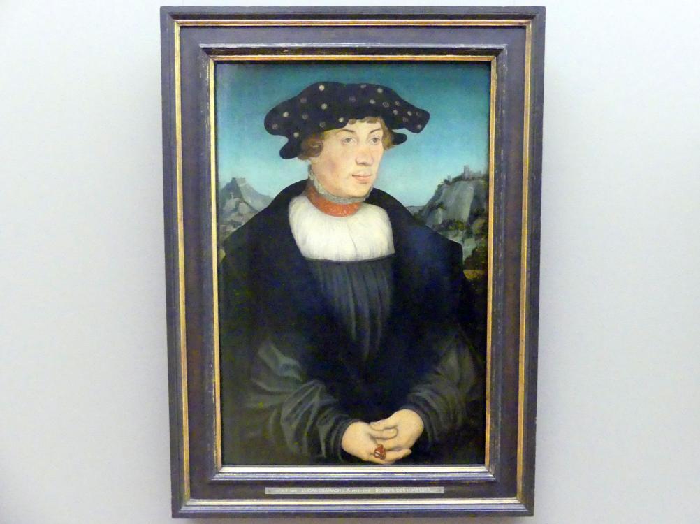 Lucas Cranach der Ältere: Bildnis des H. Melber, 1526