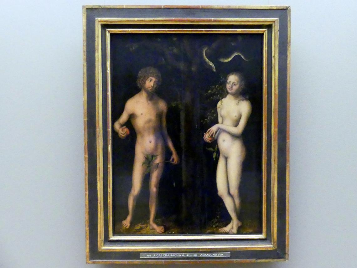 Lucas Cranach der Ältere: Adam und Eva, Um 1510 - 1516