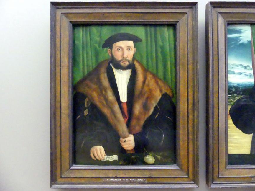 Hans Mielich: Andreas Ligsalz, 1540