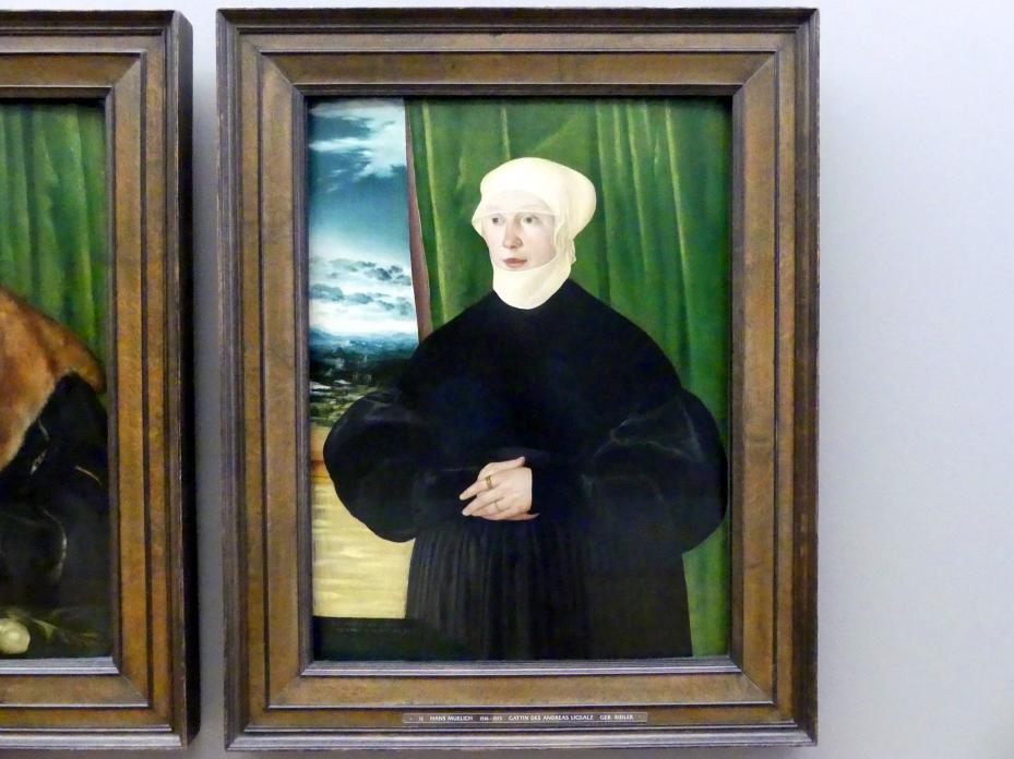Hans Mielich: Apollonia Ligsalz, geb. Ridler, 1540