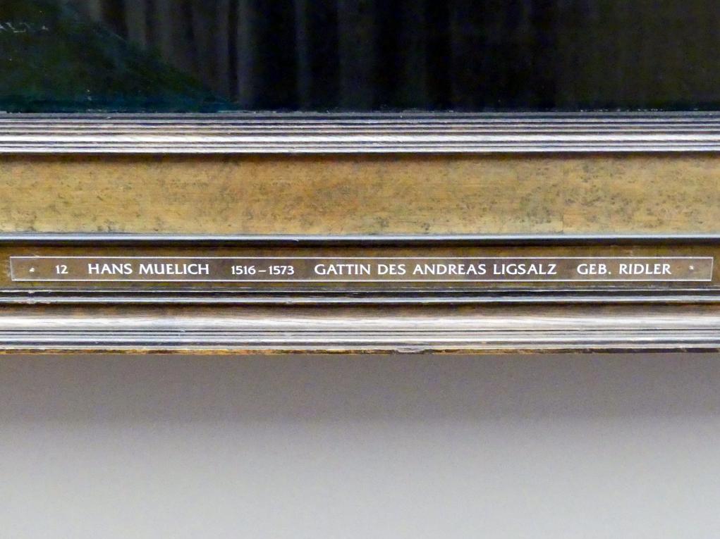 Hans Mielich: Apollonia Ligsalz, geb. Ridler, 1540, Bild 2/2