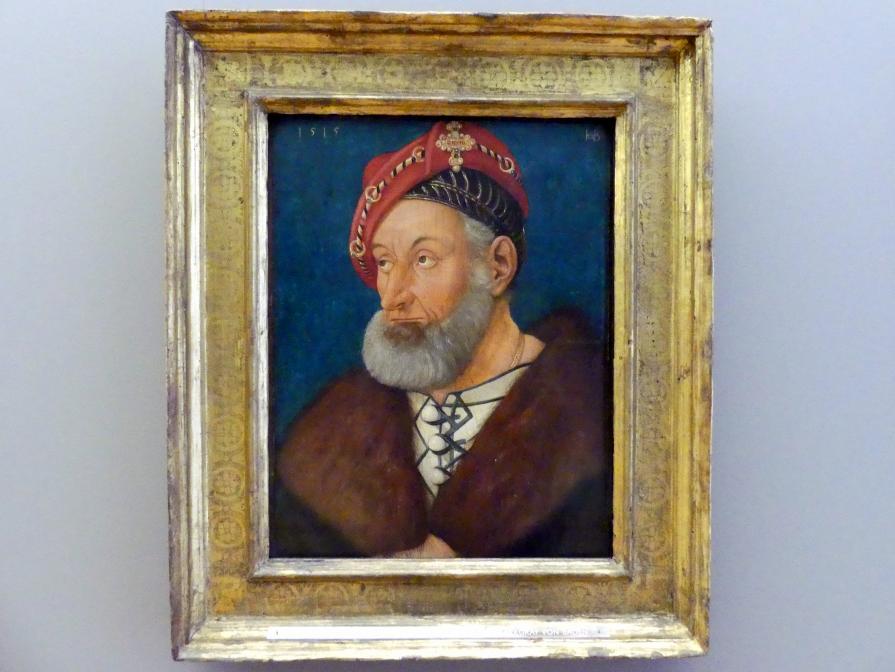 Hans Baldung Grien: Markgraf Christoph I. von Baden, 1515