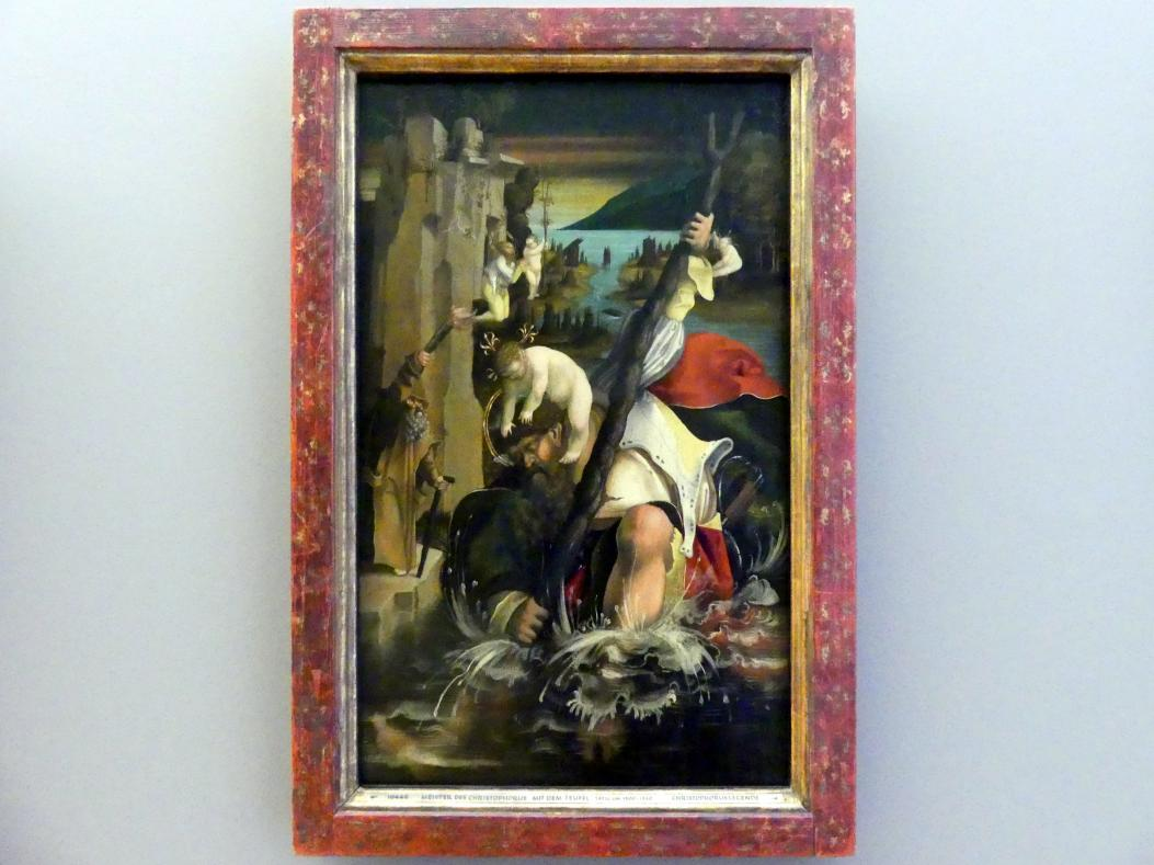 Meister des Christophorus mit dem Teufel: Hl. Christophorus, Um 1515