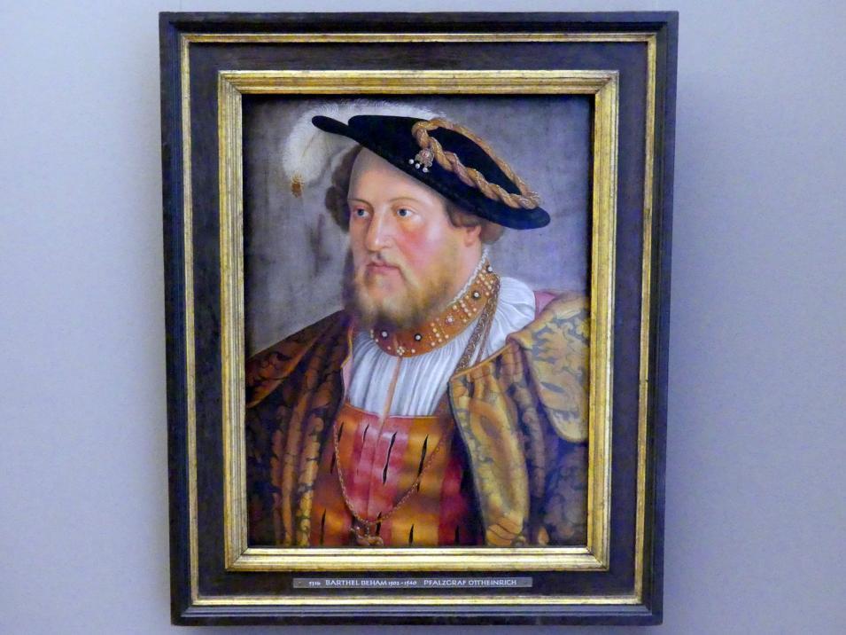 Barthel Beham: Pfalzgraf Ottheinrich, 1535