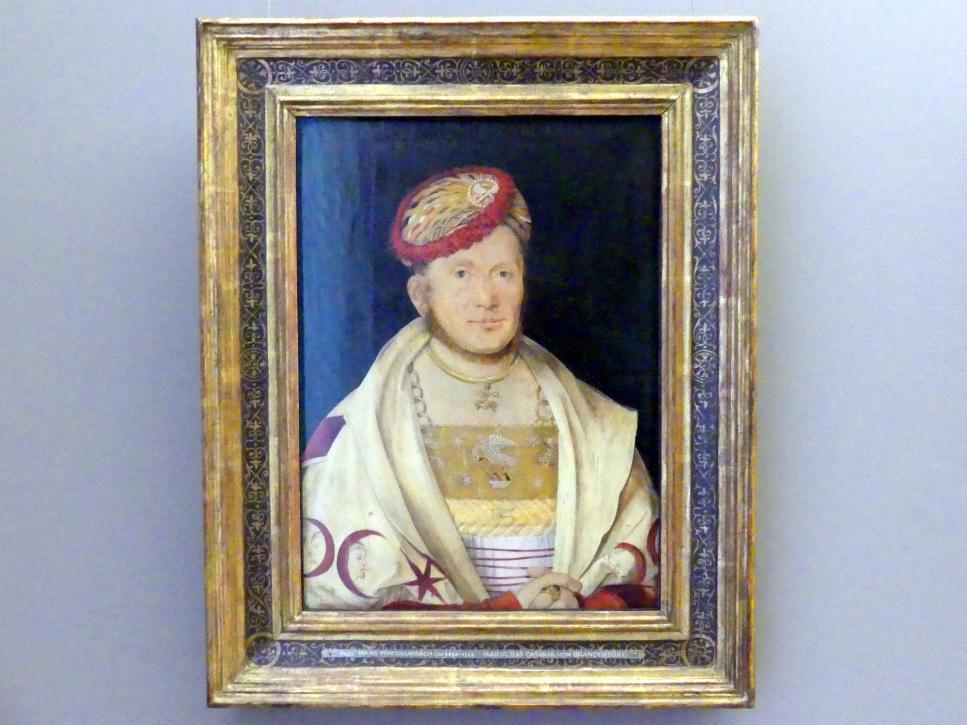 Hans Süß von Kulmbach: Markgraf Casimir von Brandenburg, 1511